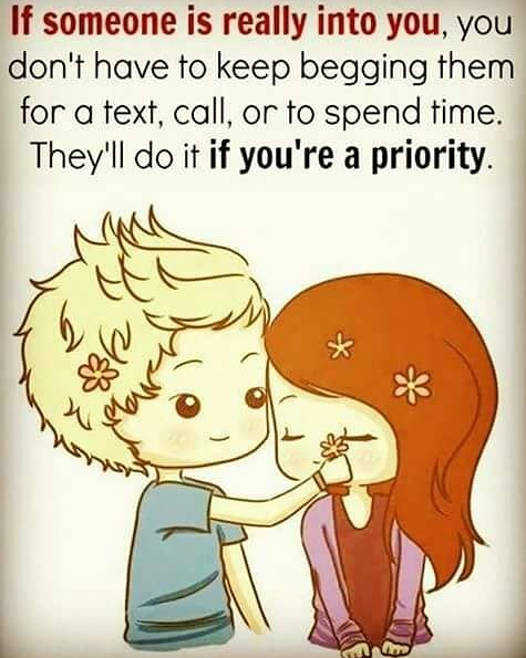 Love priorities