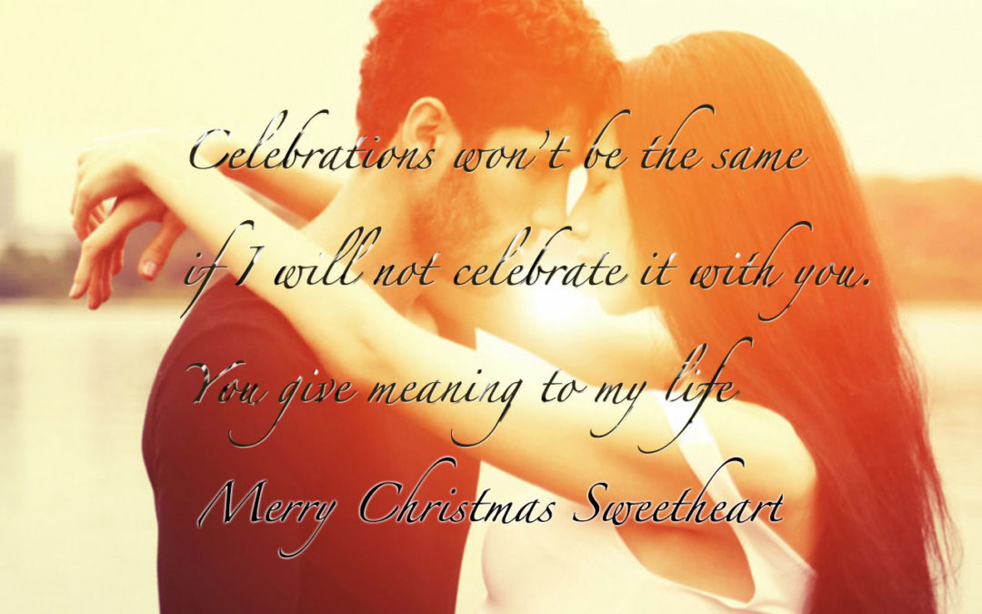 Merry Christmas Messages Sms Quotes for Girlfriend