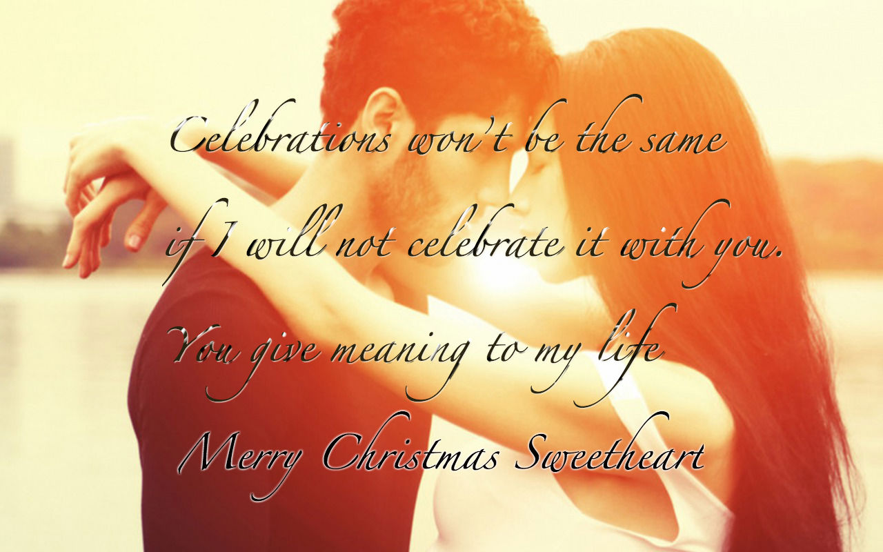 Christmas Messages Wishes for Girlfriend or Crush Latest Collection 2016