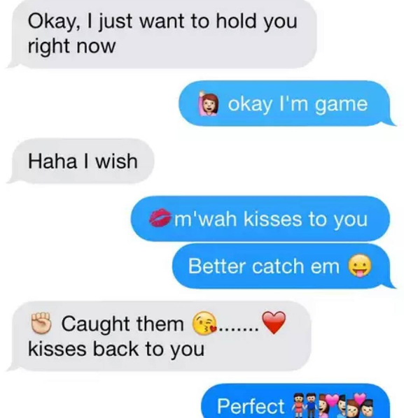 smart convo texts for gf on whatsapp or facebook